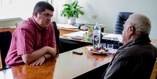 В райраді провів прийом народний депутат Бурбак М.Ю.