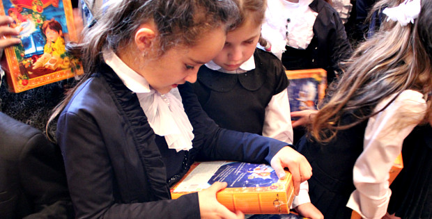 Для дітей з Буденця влаштували солодке свято