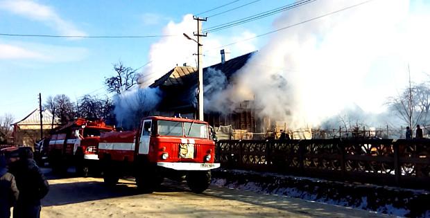 Пожежа у житловому будинку в селі Чудей