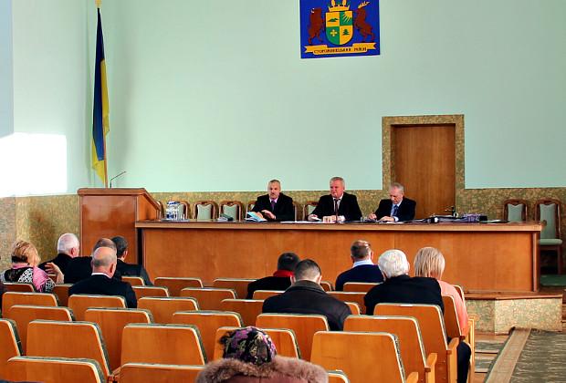 IX сесія Сторожинецької районної ради VII скликання