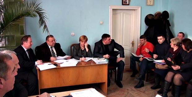 Перше засідання виконавчого комітету Сторожинецької громади