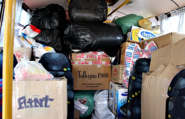 З Сторожинця відправили гуманітарну допомогу жителям Авдіївки