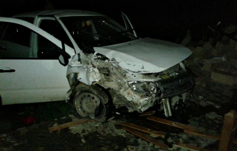В селі Череш п'яний водій зруйнував капличку