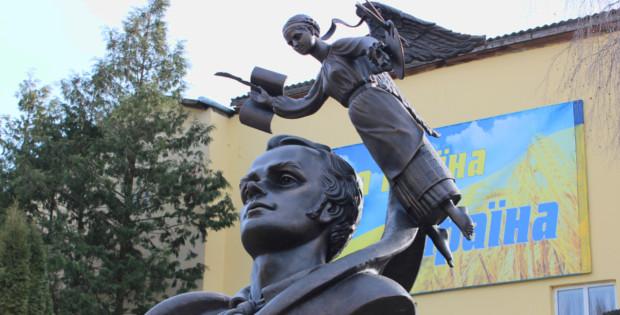 В Сторожинці відкрили пам'ятник Т.Г.Шевченку