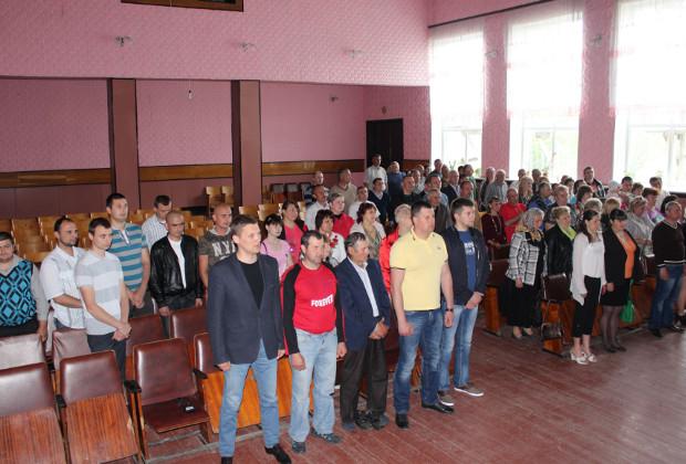 Збори села Великий Кучурів