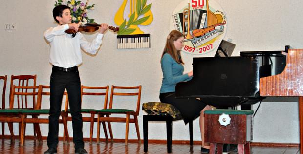 Звітний концерт Сторожинецької музичної школи