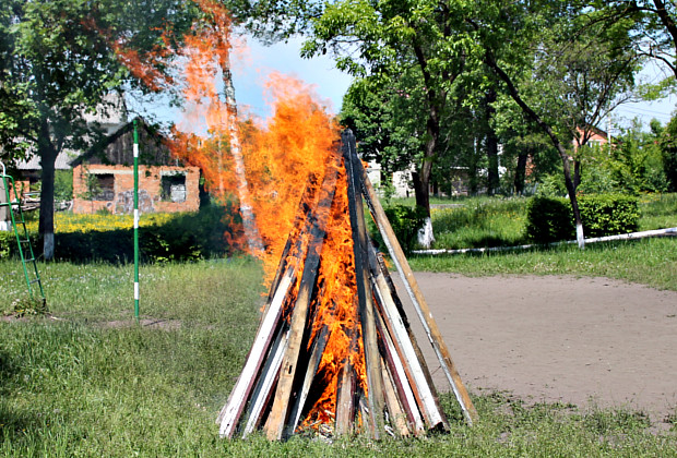 """""""Пожежа"""" в Сторожинецькому ліцеї. Фото+відео"""