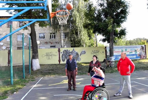 """Спартакіада людей з інвалідністю """"Повір у себе"""""""