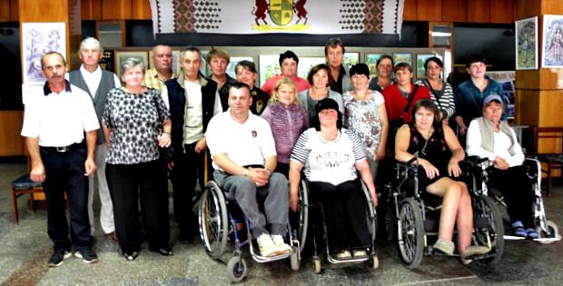 """Змагання для людей з інвалідністю """"Коло друзів – 2015"""""""