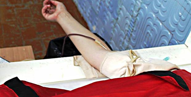 Благодійна акція  «День здачі крові для поранених в АТО»