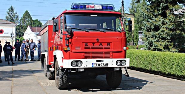 Поляки подарували Сторожинцю нове пожежне авто. Фото+Відео