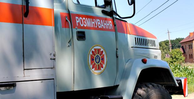 На Кобилянській в Сторожинці знайшли два снаряди
