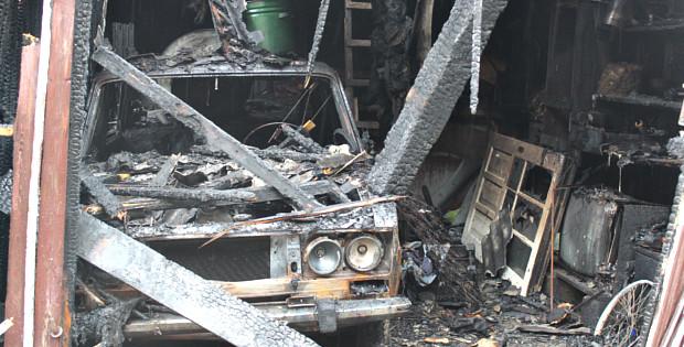 Пожежа по вул. Українській в Сторожинці