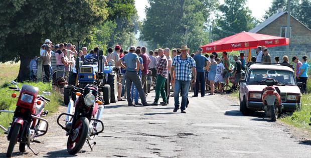 Акції протесту в Банилові-Підгірному та Череші