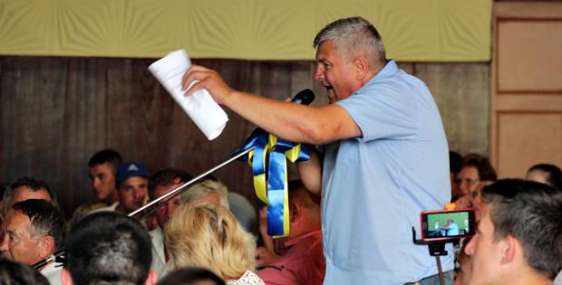 Збори в Народному Домі Банилова-Підгірного