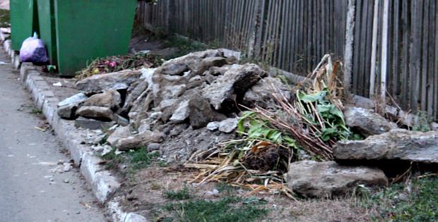 Будівельне сміття та робота ЖКГ