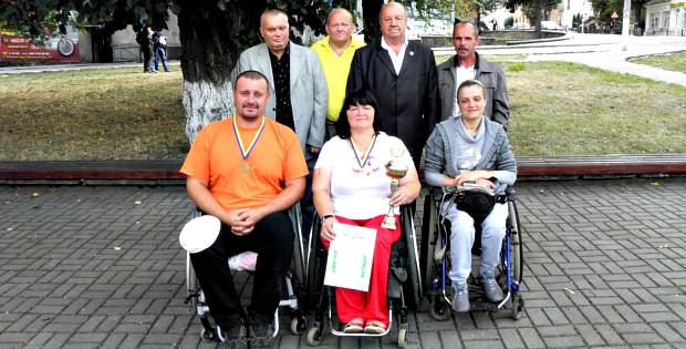 Спартакіада обласної організації Союзу організацій інвалідів