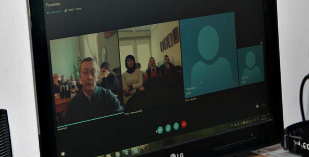Вебінар щодо децентралізації влади в Сторожинецькій ЦБС