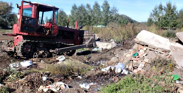 Стихійне сміттєзвалище на Табірній