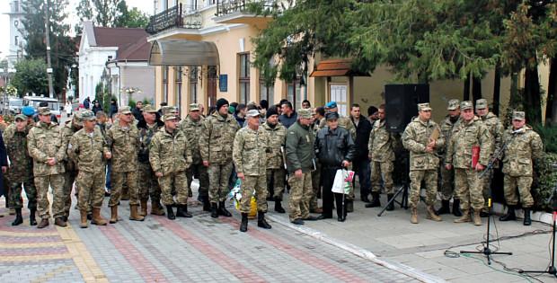 Сьогодні в Сторожинці відзначили День Захисника України