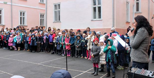 Школярі провели патріотичні заходи до Дня Козацтва