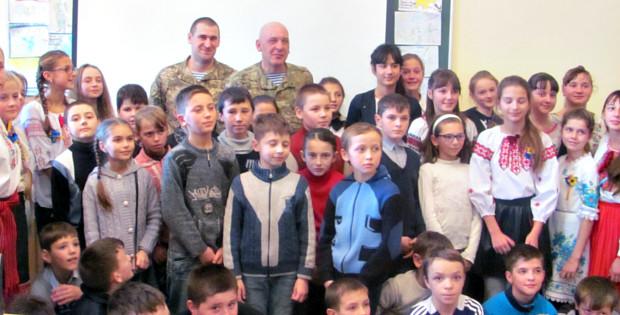 """""""Хоробрі серця"""" – зустріч школярів з ветеранами АТО. """" 64c990c47494f"""