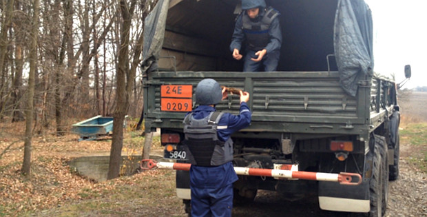 Рятувальники виявили два вибухонебезпечних предмети