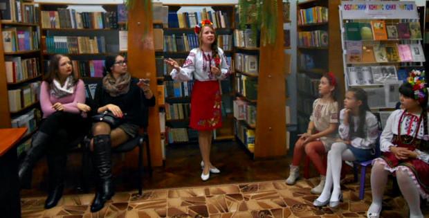 Конкурс в бібліотеці