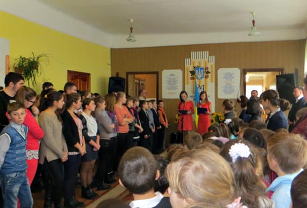 Подарунки до свята учням школи-інтернат