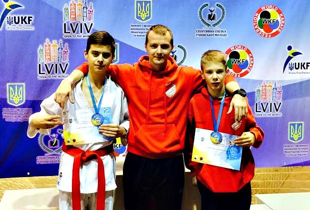 Наші каратисти здобули медалі Чемпіонату України у Львові