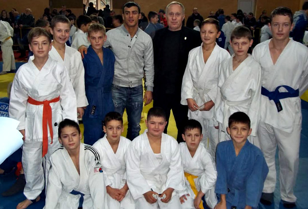Перемоги на Всеукраїнському турнірі з дзюдо серед юнаків