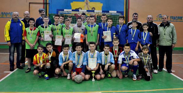 Дводенний турнір з міні-футболу в ДЮСШ
