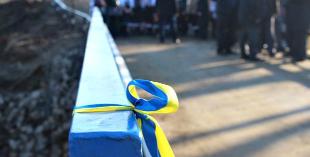 В Красноїльську урочисто відкрили новий міст за 1 мільйон гривень