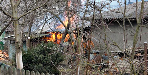 Пожежа по вул. Прутській в Сторожинці