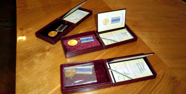 Двоє наших краян – учасників АТО отримали нагороди
