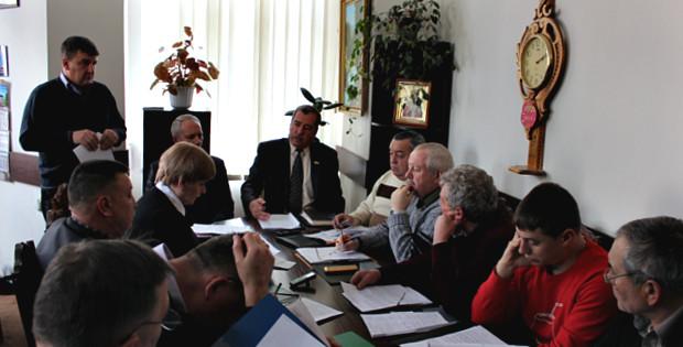 Засідання виконкому міської ради 11.02.2016 р.