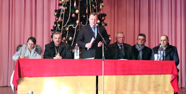 Збори громади села Великий Кучурів