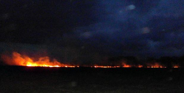 За вихідні в районі сталося 5 пожеж