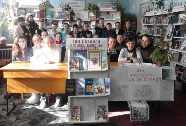 Бібліотекарі Ропчі провели захід, присвячений творчості Іона Крянге