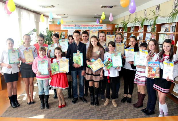 """ІІ етап конкурсу """"Найкращий читач України"""" в дитячій бібліотеці"""