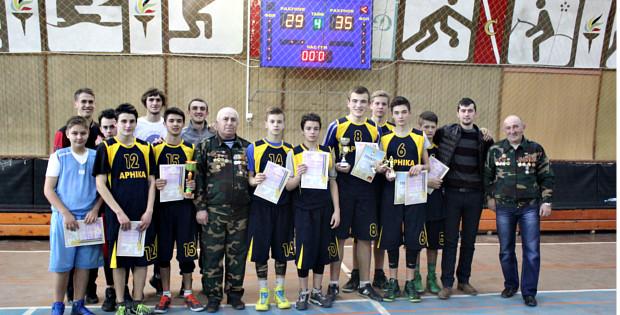 Змагання з баскетболу в Сторожинецькій ДЮСШ
