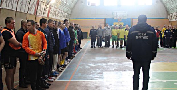 В Сторожинці пройшли змагання з футзалу серед підрозділів ДСНС