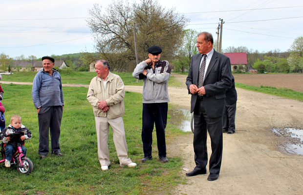 Мер зустрівся з жителями вулиці Клинівської та Амурської