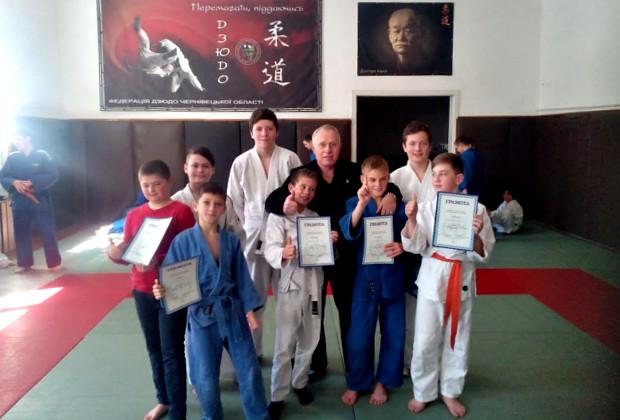 Обласний чемпіонат з дзюдо серед юнаків та дівчат