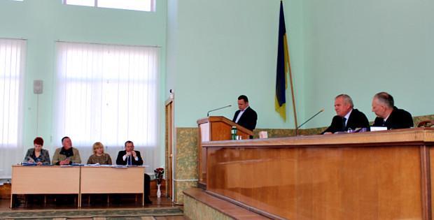 V сесія VII скликання Сторожинецької районної ради