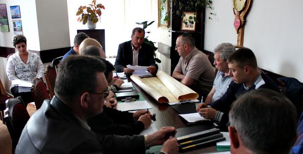 Засідання виконкому міської ради 15.04.16