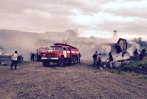 За останні вихідні в районі виникла одна пожежа