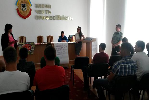 """Захід на тему """"Сучасне рабство та трудова експлуатація"""" в КВІ"""