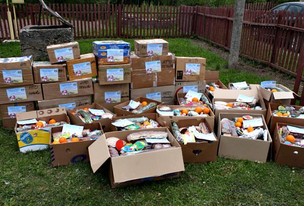Наші волонтери відправили пасхальні смаколики в зону АТО