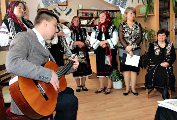 Літературна зустріч письменників двох країн в Красноїльську